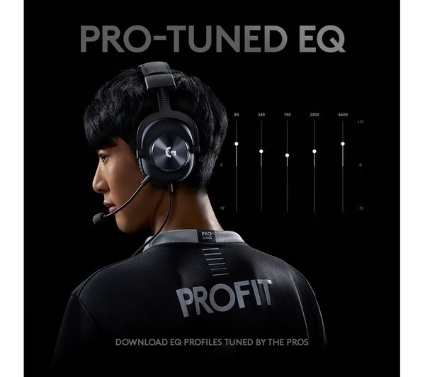 Buy Logitech G Pro X 7 1 Gaming Headset Black Free Delivery Currys