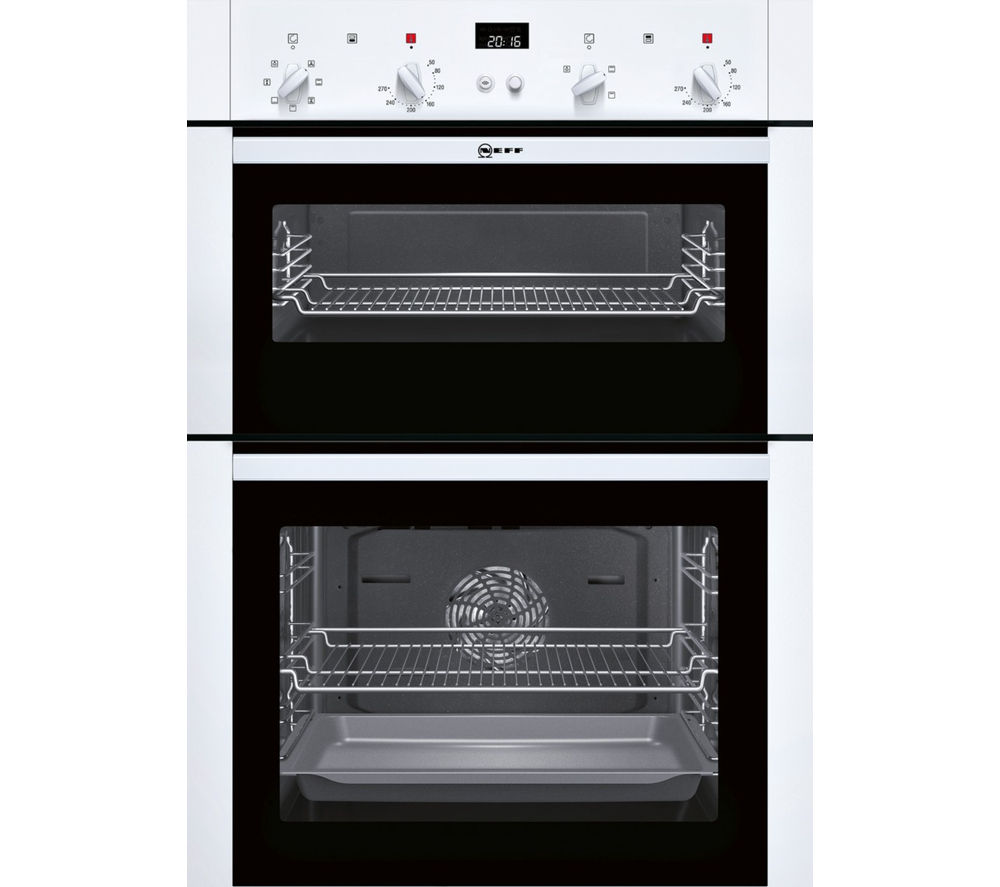 Buy NEFF U14M42W5GB Electric Double Oven White Free Delivery Currys