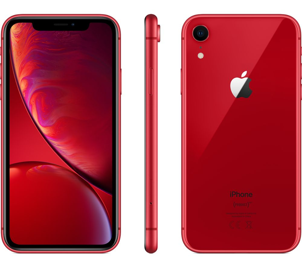 Buy APPLE iPhone XR  128 GB Red  Free Delivery  Currys
