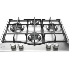 Kitchen Appliances Pay Monthly Through Wall Exhaust Fan Buy Hotpoint Pcn 641 Ix/h Gas Hob - Stainless Steel | Free ...