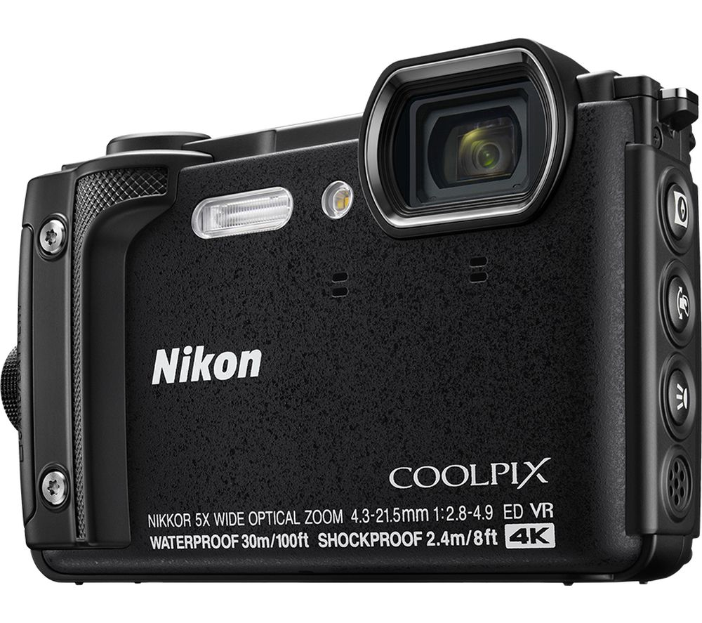 Buy NIKON COOLPIX W300 Tough Compact Camera - Black | Free Delivery | Currys