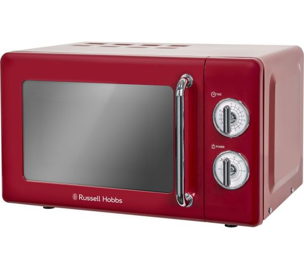 Russell Hobbs Rhretmm705r Solo Microwave - Red Free Delivery Currys