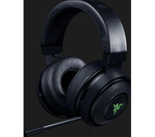 RAZER Kraken V2 7.1 Gaming Headset - Black Deals   PC World
