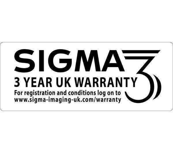 Buy SIGMA 150-600 mm f/5-6.3 DG OS HSM C Telephoto Zoom