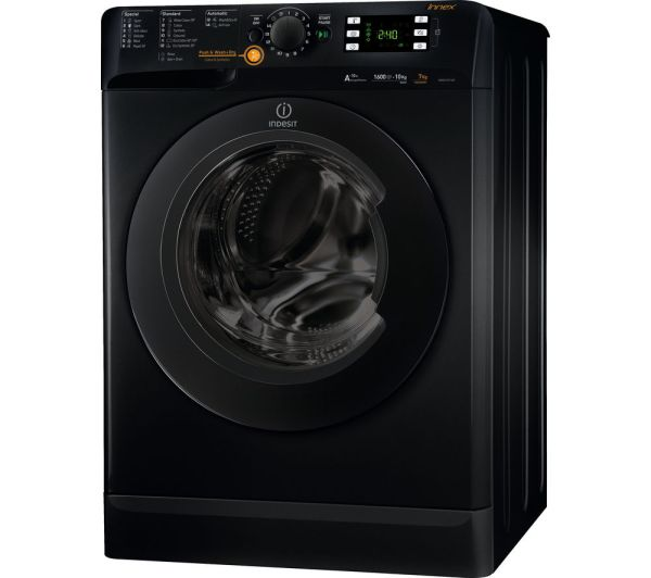 Indesit Innex Xwde751480xs Washer Dryer - Black Free