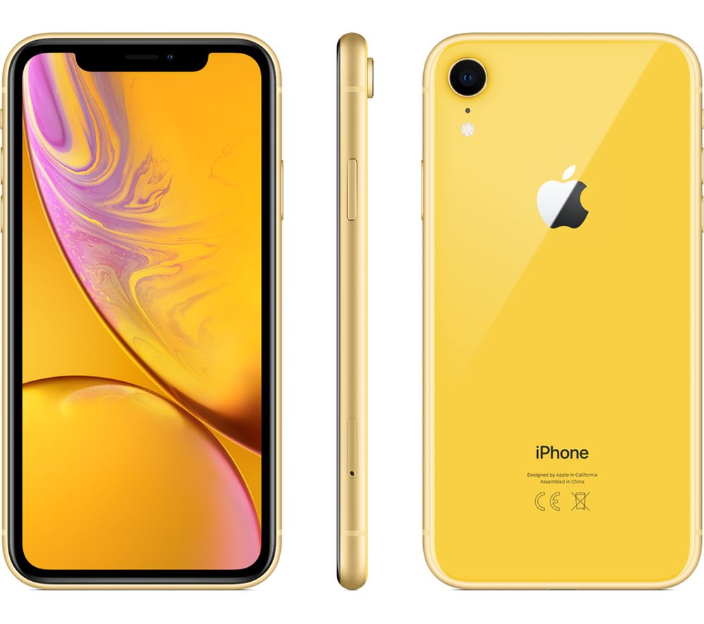 Buy APPLE iPhone XR  256 GB Yellow  Free Delivery  Currys