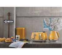 Buy DELONGHI Icona Capitals KBOC3001.Y Jug Kettle - Yellow ...