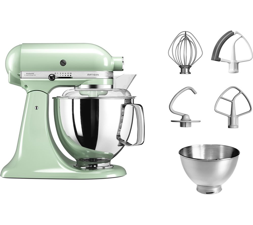 Buy KITCHENAID Artisan 5KSM175BPT Stand Mixer  Pistachio  Free Delivery  Currys
