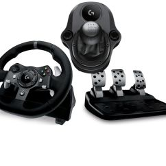 Steering Wheel Pc Co2 Dot Diagram Buy Logitech Driving Force G920 Gearstick Bundle Free Delivery Currys