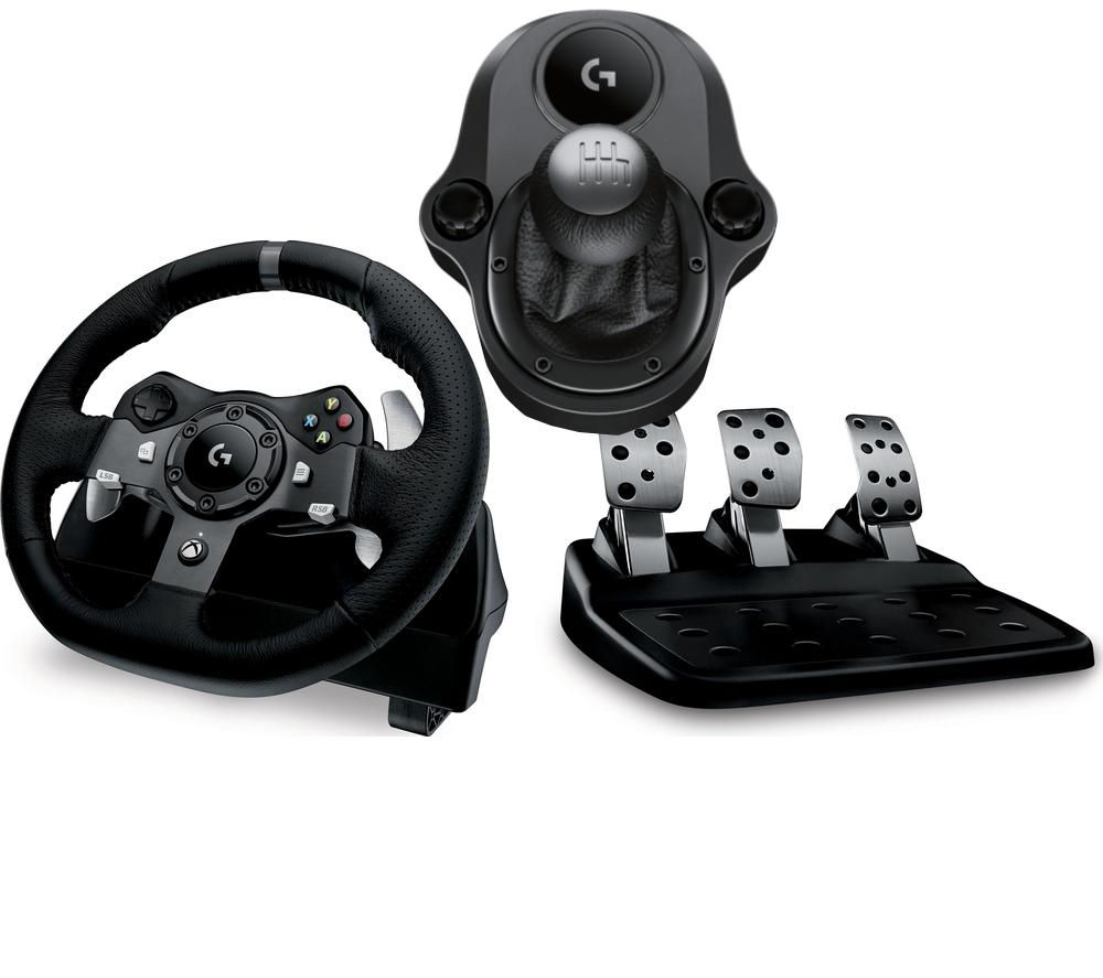 steering wheel pc plug in wiring diagram buy logitech driving force g920 gearstick bundle free delivery currys