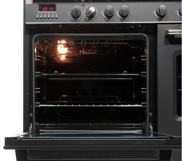Buy KENWOOD CK425 AN 90 Cm Dual Fuel Range Cooker Anthracite Free Delivery Currys