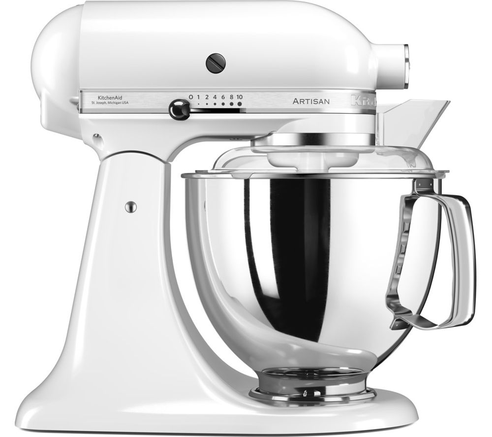 white kitchen aid cabinets pittsburgh buy kitchenaid artisan 5ksm175psb stand mixer free delivery currys