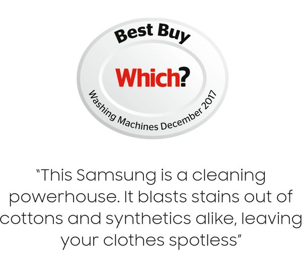 Buy SAMSUNG QuickDrive + AddWash WW80M645OPW Smart 8 kg