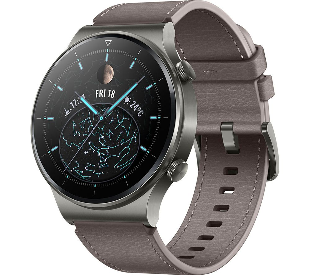 Buy HUAWEI Watch GT 2 Pro - Nebula Gray, 46 mm   Free Delivery   Currys