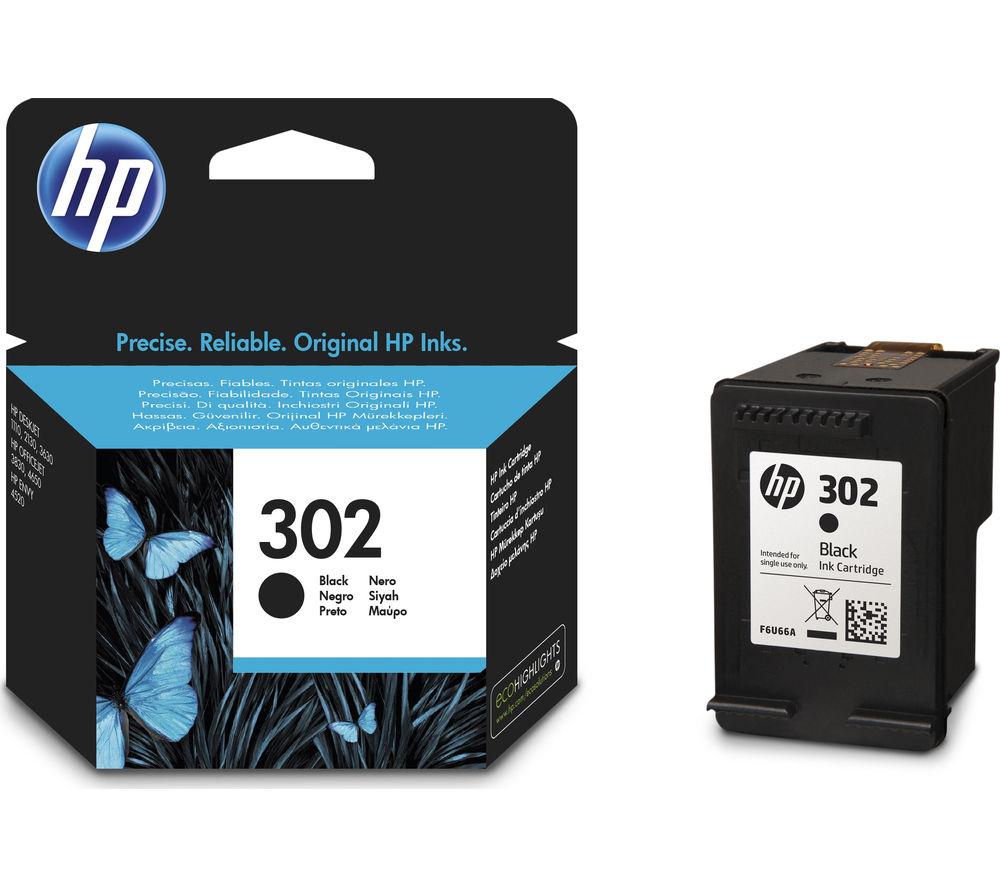 Hp 302 Black Ink Cartridge Fast Delivery Currysie