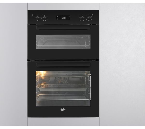 Beko Bdvc663k Electric Cooker With Double Oven