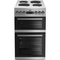 Beko Electric Cooker Wiring Diagram 2006 Suzuki Eiger 400 Buy Kdv555as 50 Cm Solid Plate Silver Free Delivery Currys