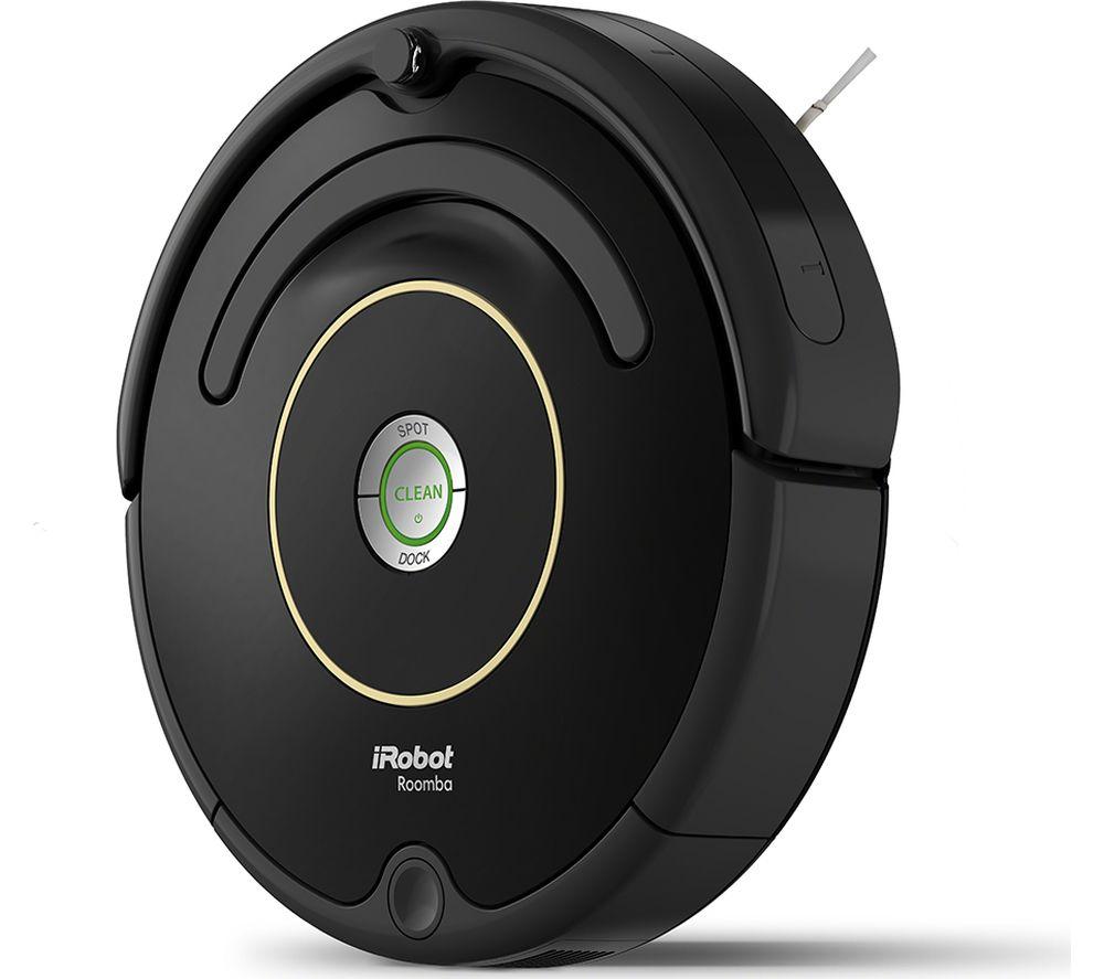 Buy IROBOT Roomba 612 Robot Vacuum Cleaner  Black  Free