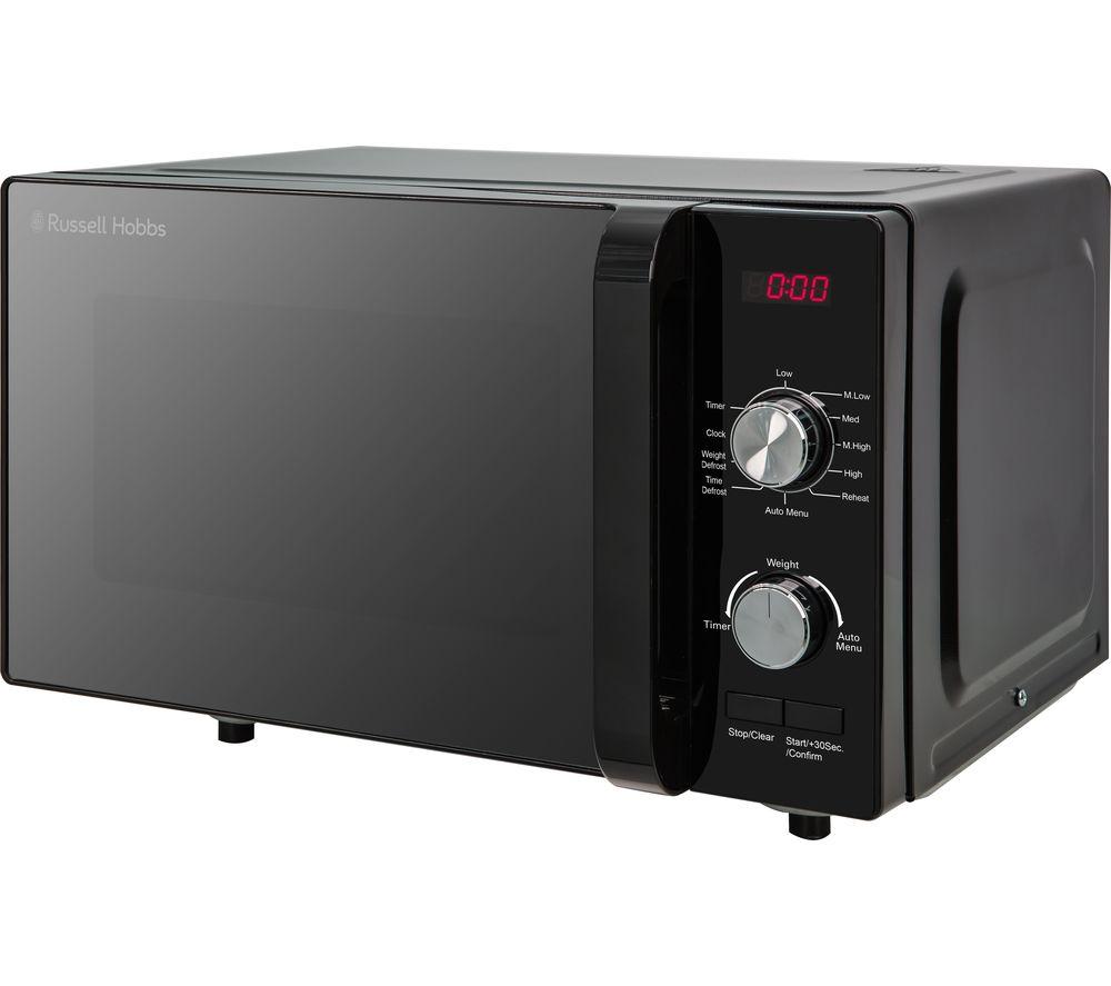 rhfm2001b compact solo microwave black
