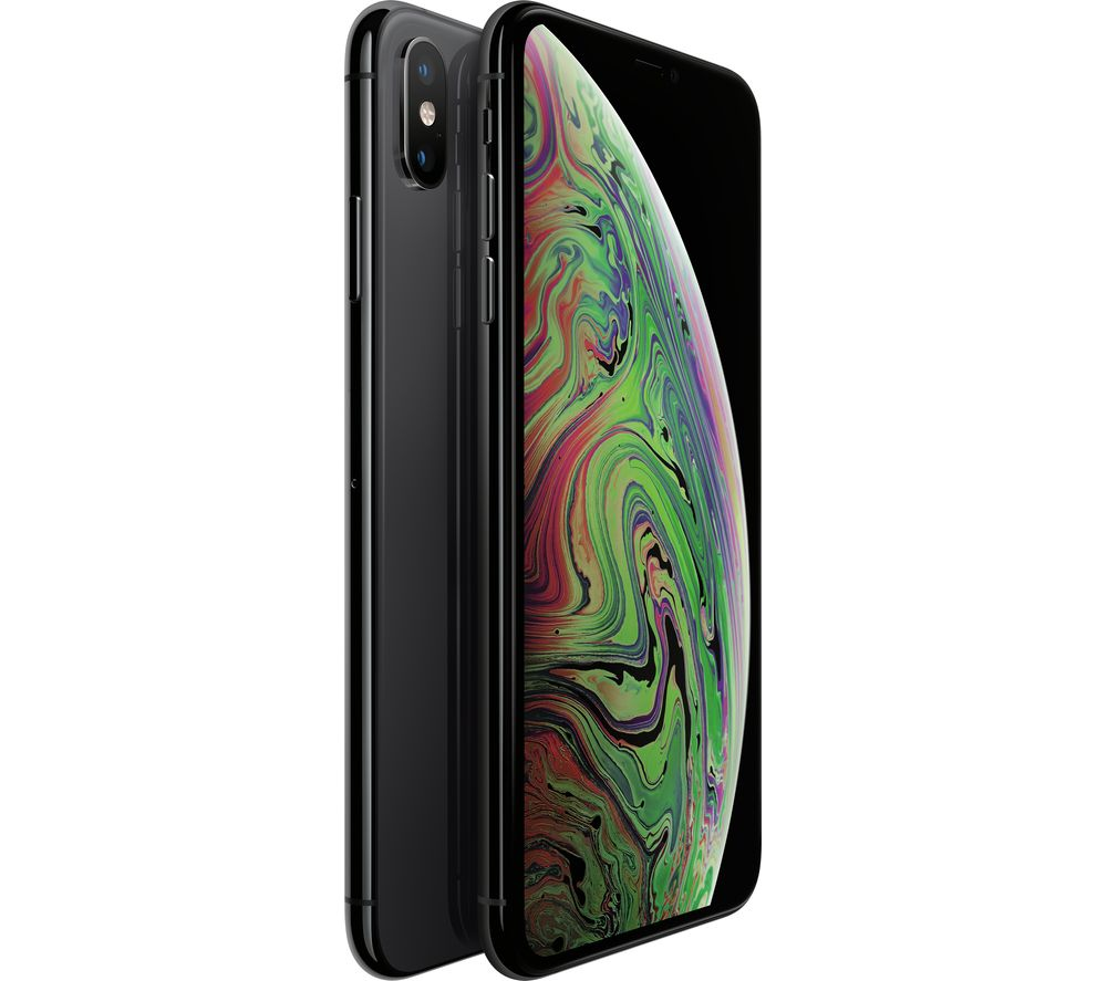Buy APPLE iPhone Xs Max  512 GB Space Grey  Free