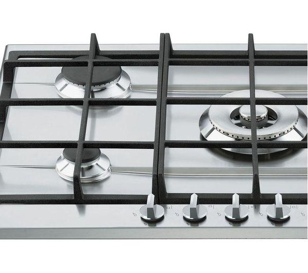 Buy SMEG Cucina P272XGH Gas Hob  Stainless Steel  Free