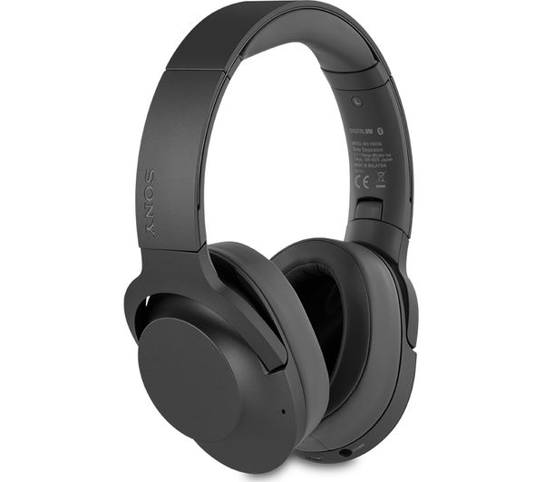 Buy SONY WH-H900N Wireless Bluetooth Noise-Cancelling Headphones - Black | Free Delivery | Currys