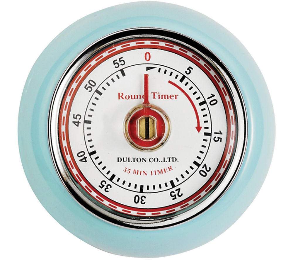 kitchen timer visualization tool buy eddingtons retro magnetic blue free delivery currys