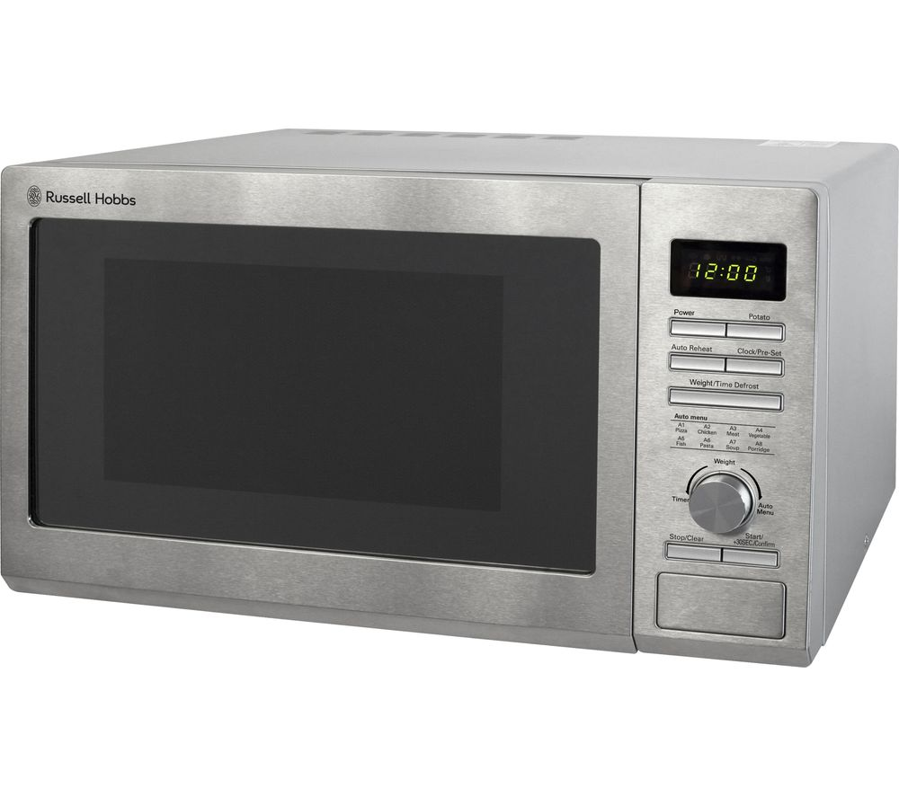 Buy Russell Hobbs Rhm2563 Solo Microwave Stainless Steel Free Delivery Currys