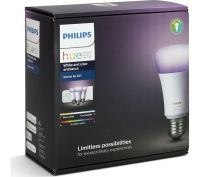 Buy PHILIPS Colour Ambiance E27 Starter Kit & Google Home ...