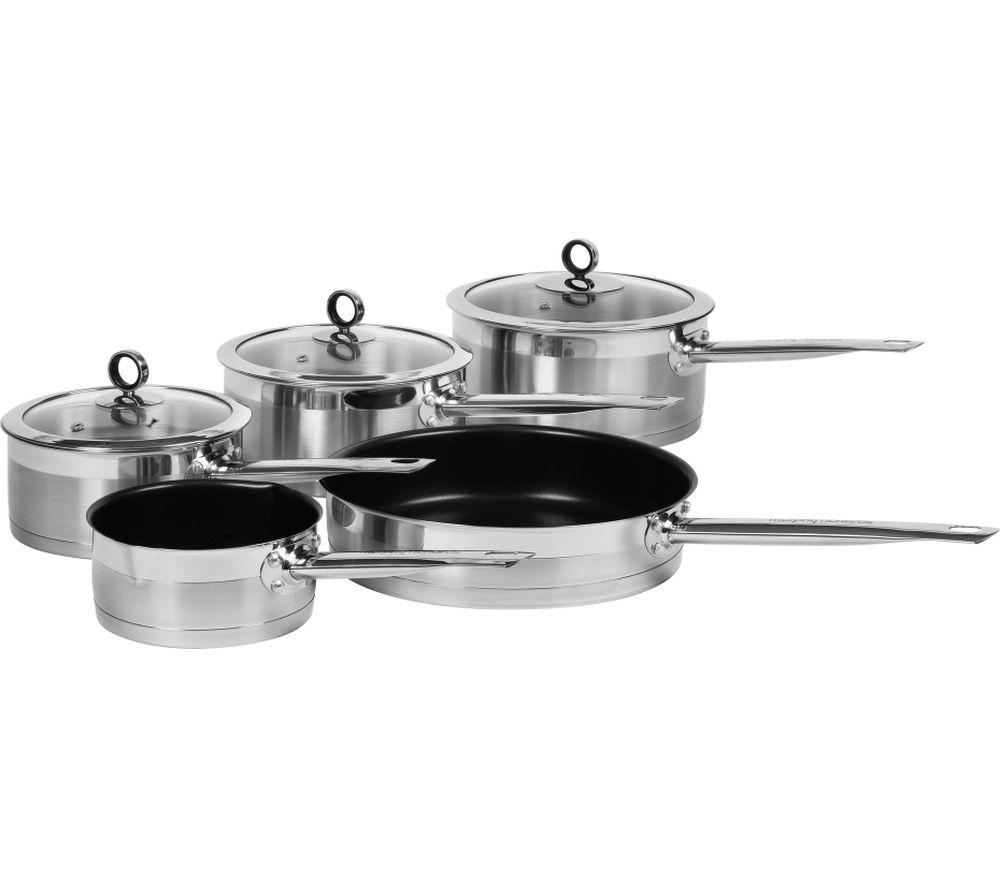 Buy MORPHY RICHARDS 46415 5 Piece Pan Set Stainless Steel Free Delivery Currys