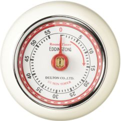 Kitchen Timer Single Sink Buy Eddingtons Retro Magnetic Ivory Free Delivery