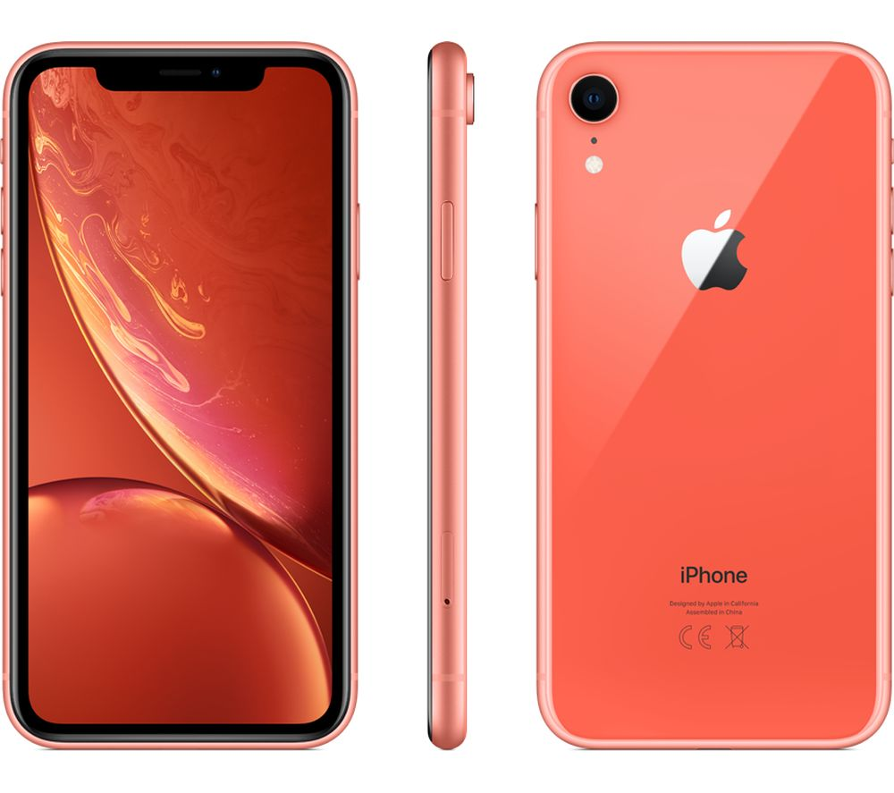 Buy APPLE iPhone XR  256 GB Coral  Free Delivery  Currys