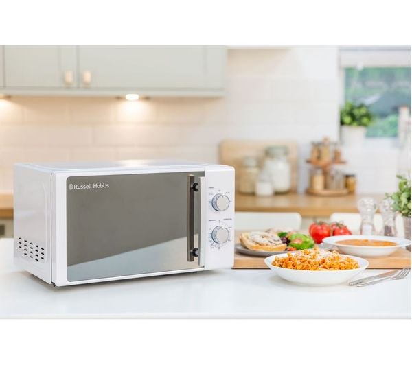 rhm2093 compact solo microwave white