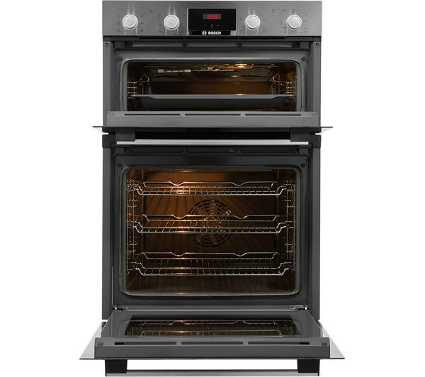 Buy BOSCH MBS133BR0B Electric Double Oven Stainless Steel Free Delivery Currys