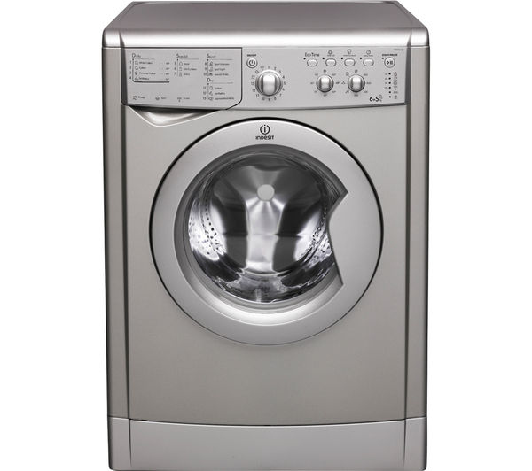 Buy Indesit Ecotime Iwdc 6125s Washer Dryer  Silver