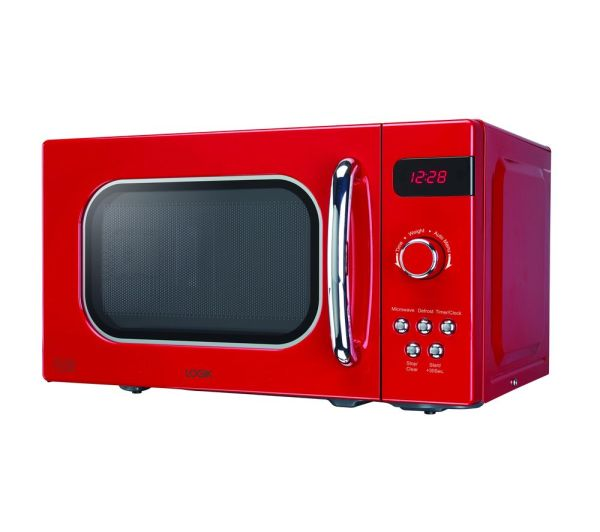 Logik L20mr17 Solo Microwave - Red Free Delivery Currys