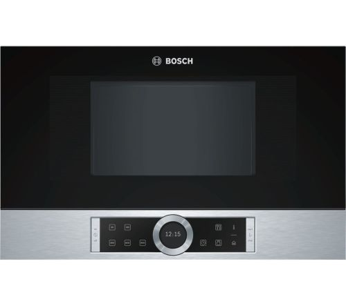 small resolution of buy bosch bfl634gs1b built in solo microwave stainless steel free delivery currys
