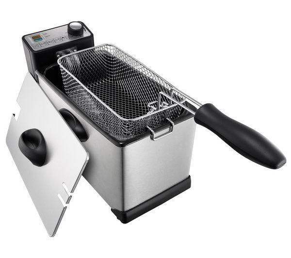 kitchen fryer lazy susan buy logik l30pfs12 professional deep stainless steel free