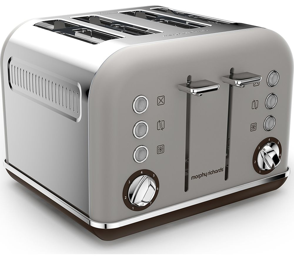 Buy MORPHY RICHARDS Special Edition Accents 242102 4 Slice Toaster Pebble Free Delivery Currys
