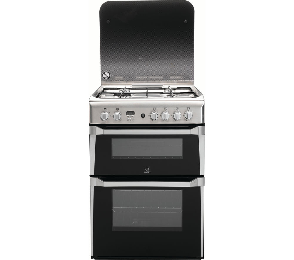 Buy INDESIT ID60G2X 60 cm Gas Cooker  Stainless Steel