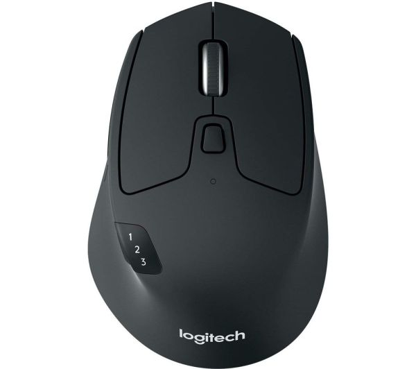 LOGITECH M720 Triathlon Wireless Optical Mouse Deals | PC ...