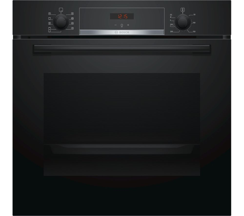 kitchen appliances pay monthly islands carts buy bosch hbs534bb0b electric oven - black | free delivery ...