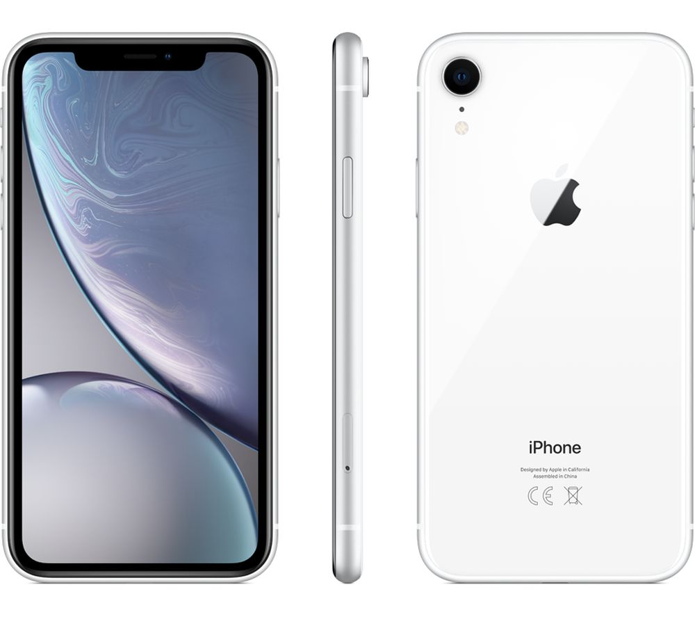 APPLE iPhone XR  256 GB White Fast Delivery  Currysie