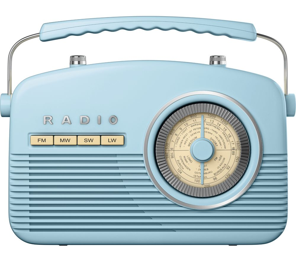 Buy AKAI Portable Analogue Retro Radio Duck Egg Free