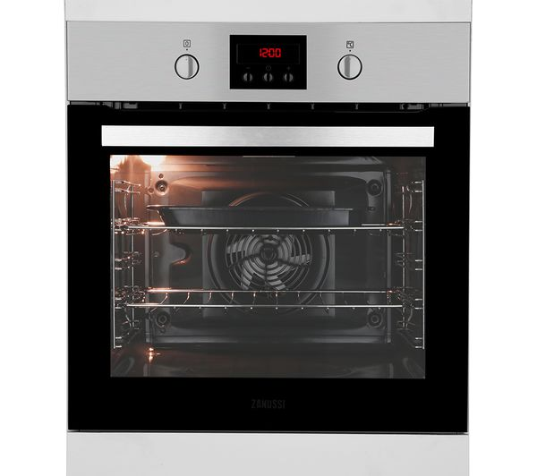 professional kitchen appliances hideaway table buy zanussi zop37987xk electric oven - stainless steel ...