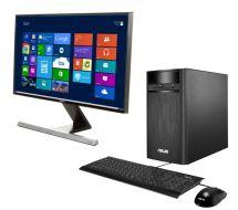 Asus K31ade Desktop Pc & Full Hd Led Monitor Bundle Deals
