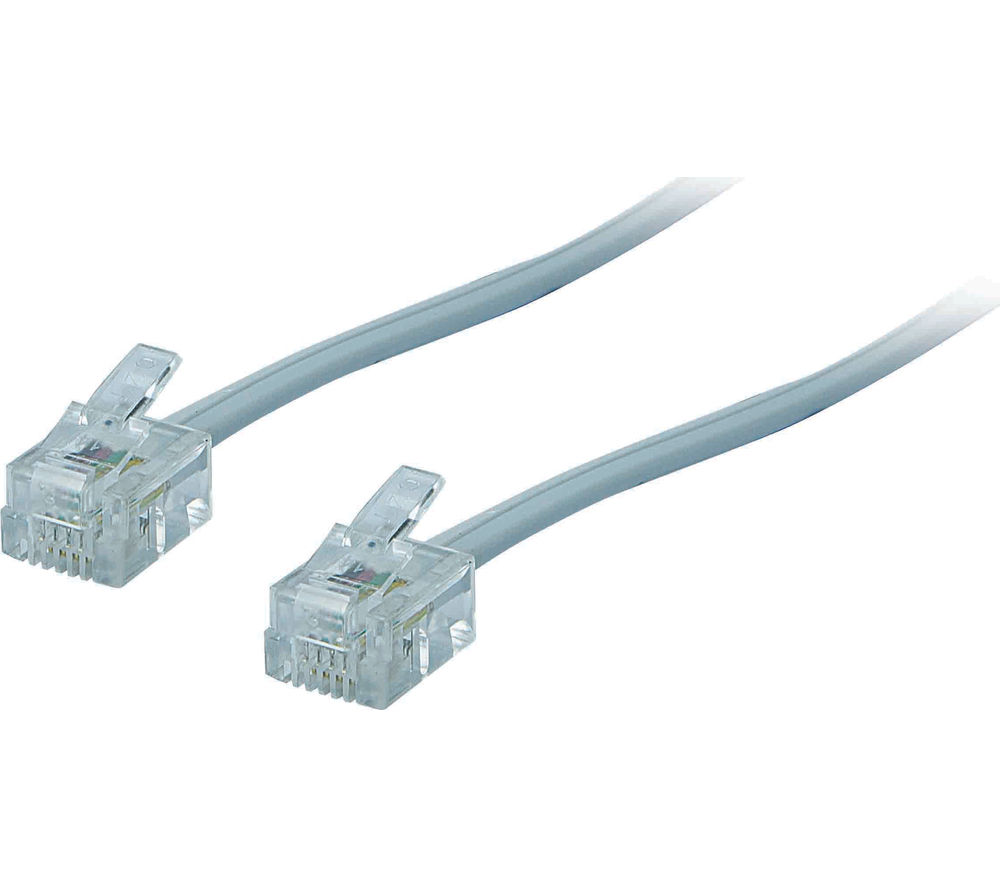 hight resolution of advent arj115m15 rj11 adsl cable 5 m deals pc world adsl modem cable wiring diagram adsl