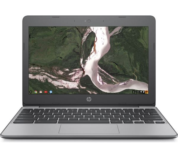 Buy HP 11v050na 116quot Chromebook Grey Free Delivery