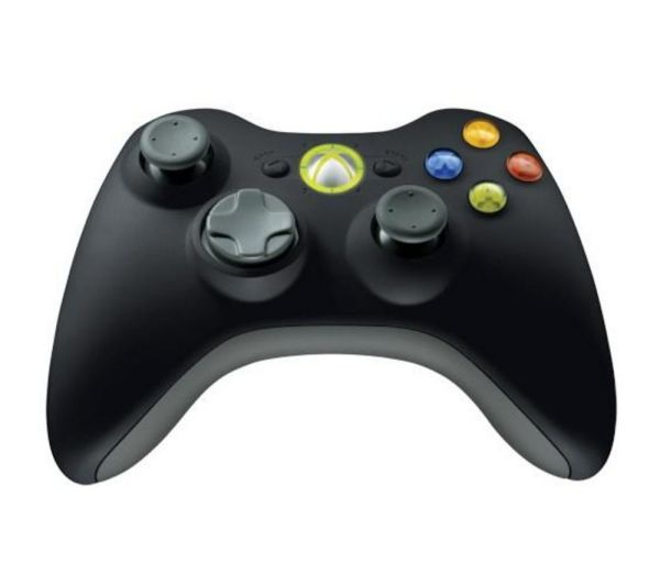 Microsoft Xbox 360 Wireless Controller Windows Black Free Delivery Currys