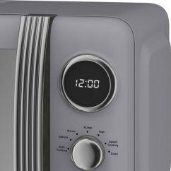 Sm Kitchen Appliances Molding Buy Swan Retro Sm22030grn Solo Microwave - Grey | Free ...